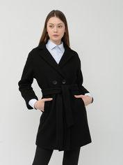 Пальто Рута-С 2351др 44 (164-88-96) Черное от Rozetka