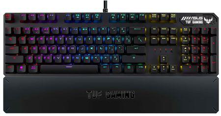 Клавиатура проводная Asus TUF Gaming K3 Kailh Red Switches USB Black (90MP01Q0-BKRA00) от Rozetka