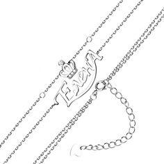 Серебряный браслет Елена с цирконием 000131964 16 размера от Zlato