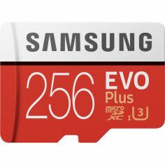 Карта памяти SAMSUNG EVO Plus 256GB UHS-I (MB-MC256HA/RU) от Foxtrot