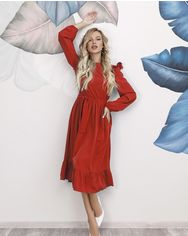Платья ISSA PLUS 12197  S красный от Issaplus