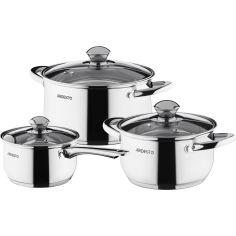 Набор посуды ARDESTO Gemini Gourmet 6 предметов (AR1906PS) от Foxtrot