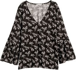 Блузка H&M 151560 S Черная (2002008444174) от Rozetka