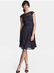 Платье H&M 177135 34 Синее (2002008266479) от Rozetka