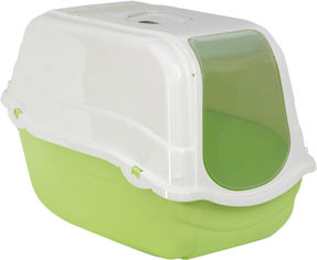 Туалет для кошек Bergamo Romeo с фильтром 57x39x41 см Green (8033776768845) от Rozetka