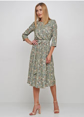 Платье Anastasimo 0166-406 L (48) Зеленое (ROZ6400017598) от Rozetka
