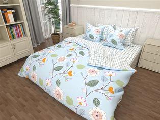 Акция на Комплект постельного белья MirSon Бязь 17-0154 Madlen 175х210 см (2200001719132) от Rozetka
