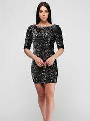 Платье Esmara 291066_02 42 Черный/серебристый (2000000096254) от Rozetka