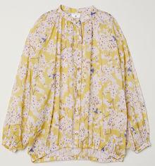 Блузка H&M 189029 38 Желтая (2002008394646) от Rozetka