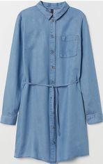 Джинсовое платье H&M 113632 36 Голубое (2002008483869) от Rozetka