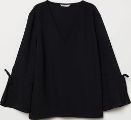 Блузка H&M 116524 44 Черная (2002008384357) от Rozetka