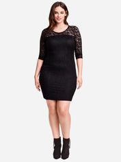 Платье H&M 163601 XXL Черное (2002008229061) от Rozetka