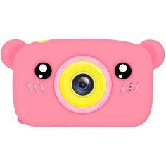 Фотоаппарат детский XOKO KVR-005 Bear Pink (KVR-005-PN) от Foxtrot