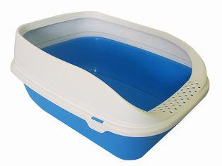 Туалет для кошек MPS с рамкой Beta Plus Maxi 49 x 39 x 17 см Blue (8022967065320) от Rozetka