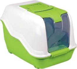 Акция на Туалет для кошек Бокс с фильтром MPS Netta Maxi 66 x 49 x 50 см Green (8022967068093) от Rozetka