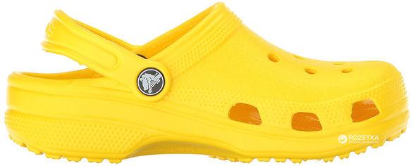 Сабо Crocs Kids Classic Clog K 204536-7C1-C11 28-29 17.4 см Желтые (887350923704) от Rozetka