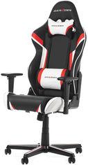 Кресло для геймеров DXRacer Racing OH/RZ288/NRW Черное / Красные и белые вставки от Rozetka