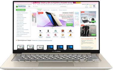 Ноутбук Asus Vivobook S13 S330FL-EY021 (90NB0N42-M00340) Icicle Gold от Rozetka