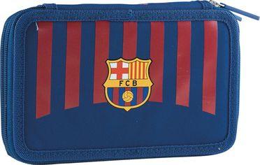 Акция на Пенал с наполнением Barcelona 2W FC-270 FC Barca Fan 8 Kids на 2 отделения (503020002) от Rozetka