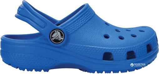 Акция на Кроксы Crocs Kids Classic Clog K 204536-456-C7 23-24 14 см Светло-синие (887350923117) от Rozetka