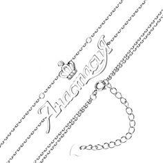 Серебряный браслет Анастасия с цирконием 000131962 16 размера от Zlato