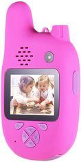 Цифровой детский фотоаппарат Xoko KVR-500 Walkie Talkie Рация и Две камеры Розовый (KVR-500-PN) от Y.UA