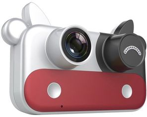 Цифровой детский фотоаппарат Xoko KVR-050 Cow red (KVR-050-RD) от Stylus