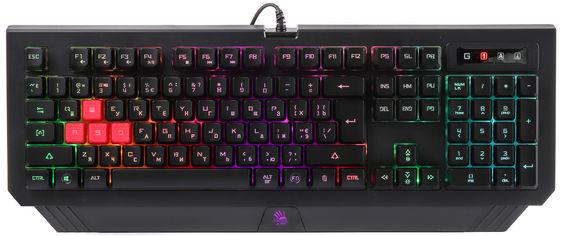 Клавиатура проводная Bloody B120N USB Black (4711421943932) от Rozetka