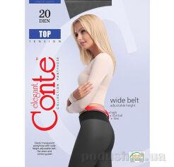 Колготки черные для женщин низкая талия Top 20 Den Conte 8С-29СП Nero 2 от Podushka