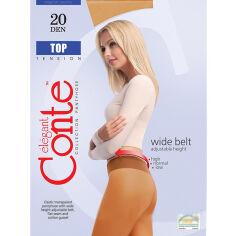 Акция на Колготки бронзовые для женщин низкая талия Top 20 Den Conte 8С-29СП Bronz 3 от Podushka