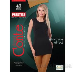 Акция на Колготки женские Prestige 40 Den Conte 8С-45СП Bronz 5 от Podushka