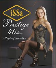Колготки ISSA PLUS Prestige 40  3/4 красный от Issaplus
