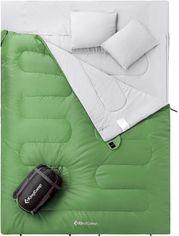 Спальный мешок KingCamp Oxygen 250D Left green (KS3143_GREEN L) от Rozetka