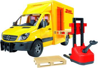 Игрушка Bruder МВ Sprinter курьерская доставка грузов с погрузчиком М1:16 (02534) от Rozetka