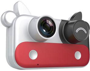 Цифровой детский фотоаппарат XoKo KVR-050 Cow red (9869201541993) от Rozetka