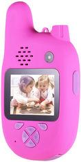 Цифровой детский фотоаппарат XOKO KVR-500 Walkie Talkie Рация и две камеры Розовый (KVR-500-PN)(9869201544413) от Rozetka