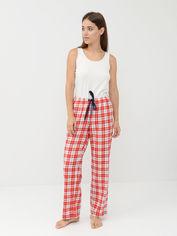 Пижамные брюки H&M 2211441 M Красные с белым (hm09394157581) от Rozetka