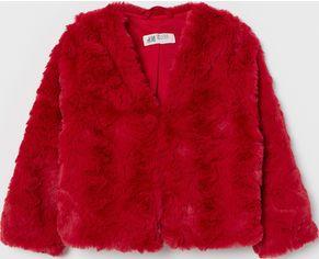 Акция на Шуба H&M 7779710 98-104 см Красная (hm00380118275) от Rozetka