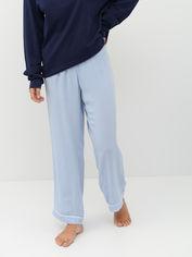 Пижамные брюки H&M 7049839 L Синие (hm07303576581) от Rozetka