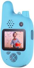 Цифровой детский фотоаппарат XOKO KVR-500 Walkie Talkie Рация и две камеры Голубой (KVR-500-BL)(9869201544420) от Rozetka