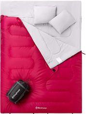 Спальный мешок KingCamp Oxygen 250D Left Crimson (KS3143_CRIMSON L) от Rozetka