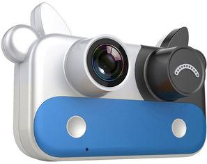 Цифровой детский фотоаппарат XoKo KVR-050 Cow blue (KVR-050-BL) (9869201542006) от Rozetka