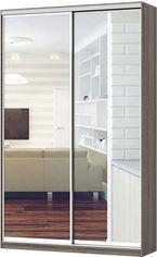 Шкаф-купе двухдверный LuxeStudio Классик 140х60х240 см Зеркало Дуб сонома трюфель (0014124294) от Rozetka