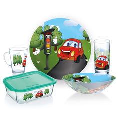 Набор детской посуды Luminarc Vroom 5 предметов P7868 от Podushka