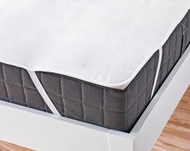 Наматрасник непромокаемый с резинками по углам Ютек Full cover 80х200 см от Podushka