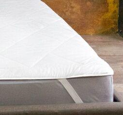 Наматрасник стеганый Ютек Simple с резинками по углам 160х190 см от Podushka