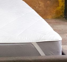 Наматрасник стеганый Ютек Simple с резинками по углам 200х220 см от Podushka