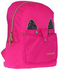 Акция на Рюкзак Safari Style 35 x 25 x 15 см 13 л Розовый (20-179S-1) (8591662201796) от Rozetka