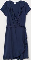 Платье H&M 7529489 M Темно-синее (hm08020133511) от Rozetka
