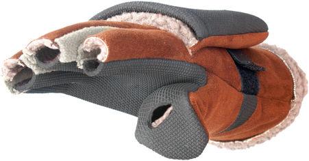 Перчатки-варежки Norfin Aurora 703025 L Серо-коричневые (4750701074263) от Rozetka